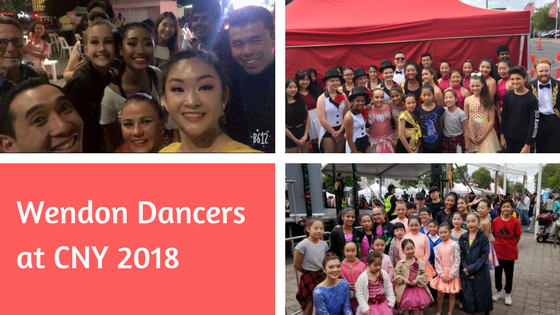 Wendon Dancers at CNY 2018